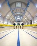Piscine de la Butte aux cailles - Paris 13èmearchitecture photographie arnaud chochon piscine vide france