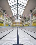 Piscine Hébert - Paris 18èmearchitecture photographie arnaud chochon piscine vide france