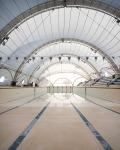 Stade nautique - Mérignac (33)architecture photographie arnaud chochon piscine vide france