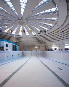 Piscine Toulouse Lautrec - Toulouse (31) architecture photographie arnaud chochon piscine vide france