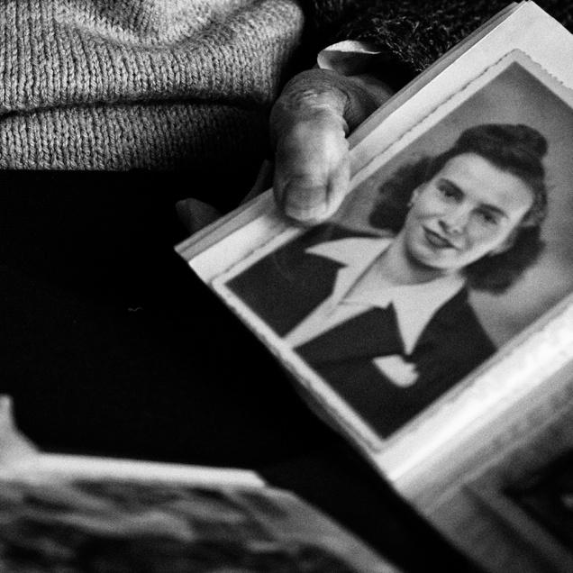 FRANCE - REPORTAGE ET PORTRAITS DANS UNE MAISON DE RETRAITE EHPAD