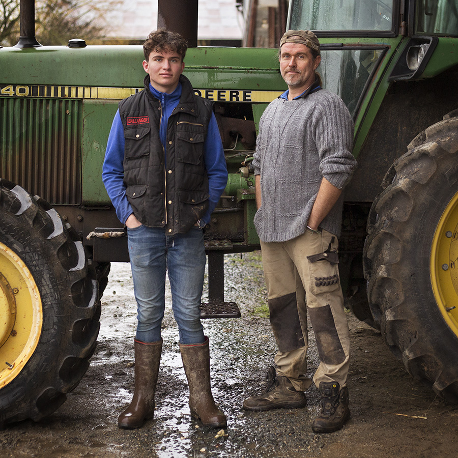 FRANCE - LA TERRE EN HERITAGE TRANSMISSION AGRICULTURE